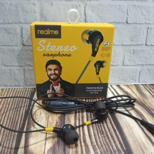 Harga headset realme 003 suara ngebass hf realme kualitas bagus | HARGALOKA.COM