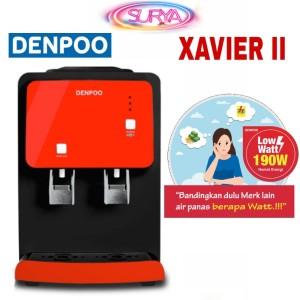 Harga dispenser low watt hot amp fresh denpoo xavier ii 190 | HARGALOKA.COM