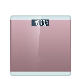 Harga timbangan badan motif garis tepi max 180kg lsh   | HARGALOKA.COM