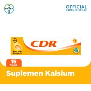 Harga cdr suplemen kalsium rasa jeruk 15 | HARGALOKA.COM