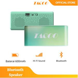 Harga tacoo bluetooth speaker wireless baterai awet hi fi | HARGALOKA.COM