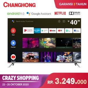 Harga changhong framless google certified android smart 40 inch led tv | HARGALOKA.COM