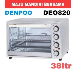 Harga oven listrik denpoo deo820 38 liter | HARGALOKA.COM