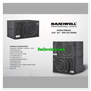 Harga speaker karaoke pasif hardwell prm 10 | HARGALOKA.COM