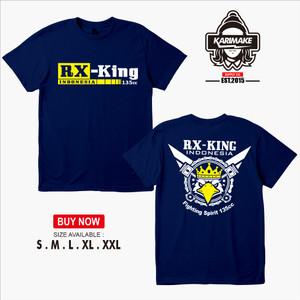 Harga kaos baju motor yamaha rx king indonesia 135cc logo   | HARGALOKA.COM