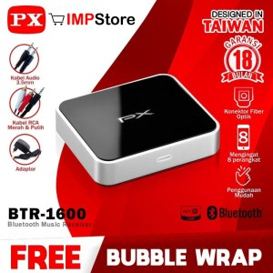 Harga bluetooth music receiver px btr 1600 u speaker home theatre   HARGALOKA.COM