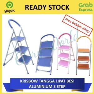 Info Tangga Lipat Krisbow 3 Step Katalog.or.id