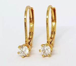 Harga anting earing daisy desi gold xuping perhiasan diamond jewelry | HARGALOKA.COM