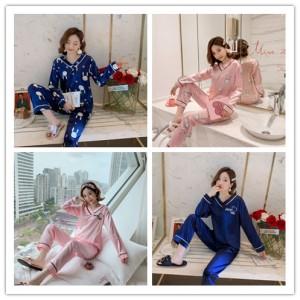 Harga vso setelan baju tidur wanita lengan panjang e   foto | HARGALOKA.COM