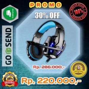 Harga promo murah kotion each g9000 gaming headset twisted with led | HARGALOKA.COM