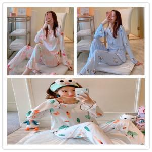 Harga vso setelan baju tidur wanita lengan panjang c   foto | HARGALOKA.COM