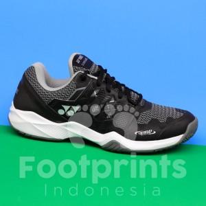 Harga sepatu tenis yonex power cushion sonicage black tennis shoes original   | HARGALOKA.COM