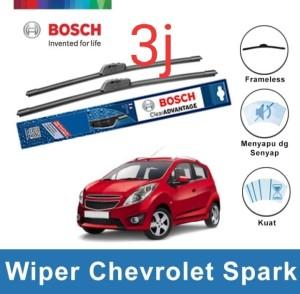 Harga wiper bosch chevrolet spark frameless new clear 21 amp | HARGALOKA.COM