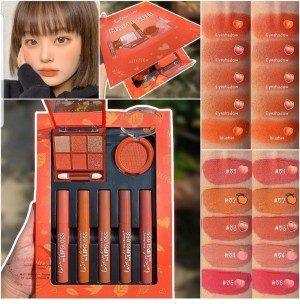 Harga kiss beauty maple suit peach 9 color eyeshdw 1 blush on 5 lipcream | HARGALOKA.COM