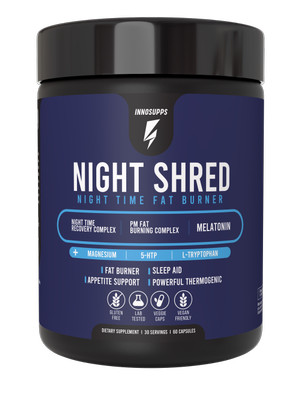 Harga inno supps night shred natural sleep support and pm burner 60 | HARGALOKA.COM