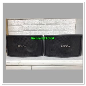 Harga speaker karaoke musik pasif 6 5 inch elegan rovicpro | HARGALOKA.COM