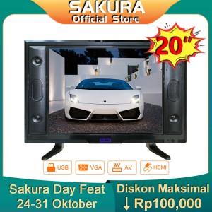 Harga sakura tv 20 inch hd ready led televisi tclg sa20e | HARGALOKA.COM