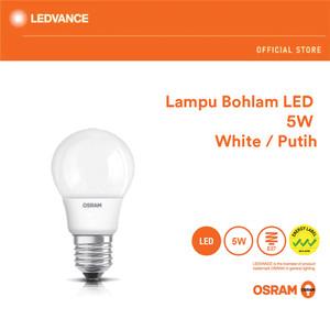 Harga osram lampu bohlam led 5 watt 1 pcs   | HARGALOKA.COM