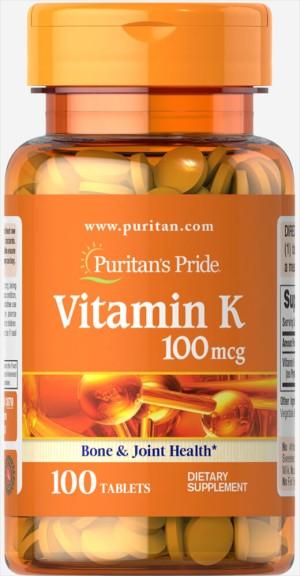Harga puritan 39 s pride puritan pride vitamin k 100mcg isi 100 tablets   | HARGALOKA.COM