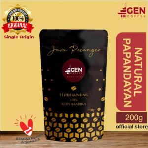 Harga kopi arabika natural papandayan 200gr asli jawa barat   bubuk | HARGALOKA.COM