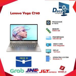 Harga laptop lenovo yoga c740 14iml 2in1 touch i5 10210 8gb 256ssd 14 | HARGALOKA.COM