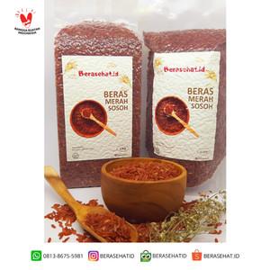 Harga beras merah sosoh   beras sehat   beras diet   bersehat id   1 | HARGALOKA.COM
