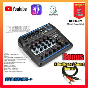 Harga mixer ashley audio speed up 6 original garansi 1 | HARGALOKA.COM