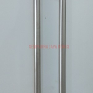 Harga handle pintu stainless steel pull handle h pipa bulat as 60 x 80 | HARGALOKA.COM