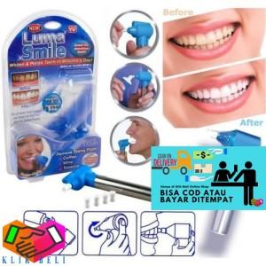 Harga luma smile penghilang noda gigi alat pembersih karang pemutih | HARGALOKA.COM
