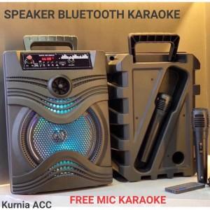 Harga speaker bluetooth karaoke speaker mic   HARGALOKA.COM
