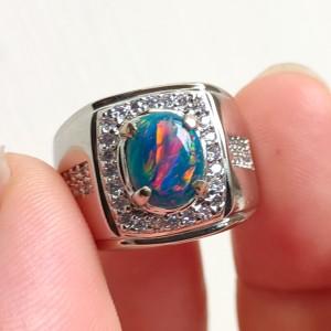 Harga cincin kalimaya super jarong dengan ring alpaka model mantap | HARGALOKA.COM