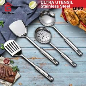 Harga gm bear spatula set isi 4pcs 1092 spatula sutil stainless | HARGALOKA.COM