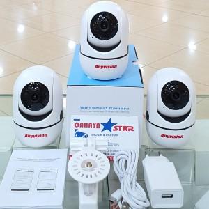 Harga ip kamera wifi anyvision 2mp full hd memory 32gb siap | HARGALOKA.COM