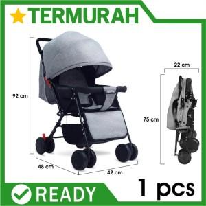 Harga kereta dorong bayi stroller lipat travel baby elle labeile | HARGALOKA.COM
