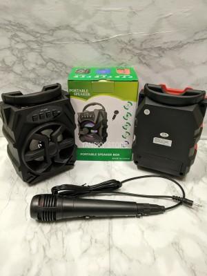 Harga speaker bluetooth mic hf s228 portable harga termurah speaker karaoke   | HARGALOKA.COM
