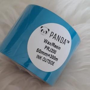 Harga panda prj 200 wax resin 50x300 face out barcode printer | HARGALOKA.COM