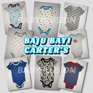 Harga baju bayi anak laki laki jumper baby pendek 0 3 bulan carter 39 s 5 in | HARGALOKA.COM