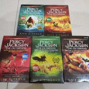 Harga novel percy jackson and the olympians rick riordan 1 2 3 4 5 set   HARGALOKA.COM