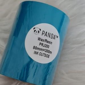 Harga panda prj 200 wax resin 80x300 face out barcode printer | HARGALOKA.COM