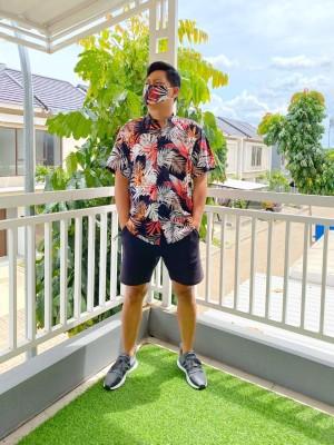 Harga kemeja pinot motif hawaii kemeja pantai free | HARGALOKA.COM