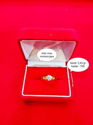 Harga cincin emas kuning asli permata kadar   HARGALOKA.COM