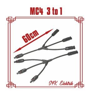 Harga kabel konektor mc4 3in1 untuk panel surya solar | HARGALOKA.COM