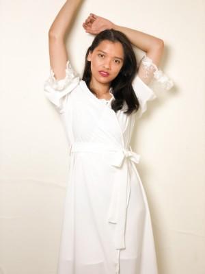 Harga sarkara bridal robe kimono | HARGALOKA.COM
