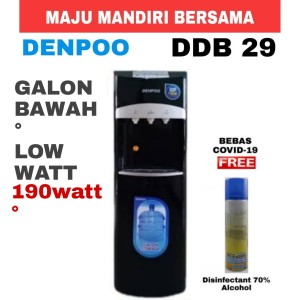 Harga dispenser denpoo ddb 29 galon bawah hot cold amp normal low watt | HARGALOKA.COM