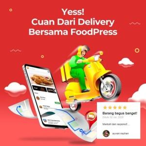Harga foodpress v2 template toko online whatsapp | HARGALOKA.COM