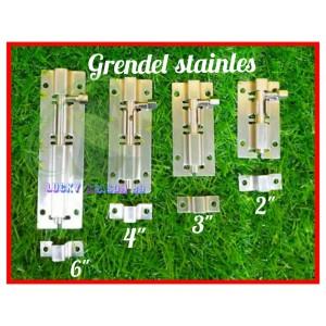 Info Grendel Stainless 4 Inch Grender Slop Pengunci Pintu Selop Katalog.or.id