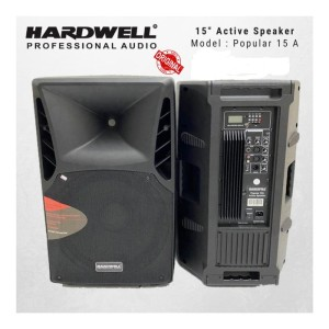 Harga speaker murah aktif hardwell 15a original 15 inch usb mp3 | HARGALOKA.COM