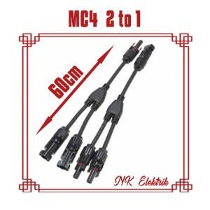 Harga konektor mc4 kabel 2in1 untuk panel surya solar | HARGALOKA.COM
