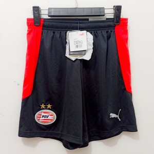 Harga jersey celana bola anak psv eindhoven home short repllica original   hitam | HARGALOKA.COM