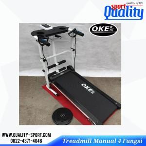 Harga treadmill manual 4 fungsi alat fitness dan | HARGALOKA.COM